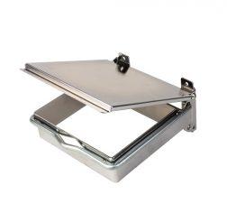 Sanitetspåshållare Lock Metall