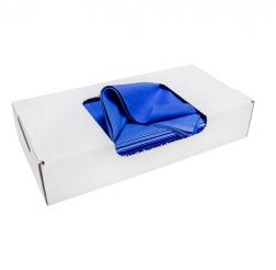 Torkdukar Blå Bomull 6kg (Box)