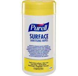 Ytdesinfektionsduk Purell 100 st