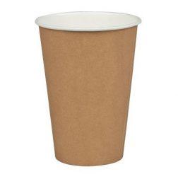Kaffebägare brun 20cl