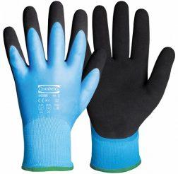 Handske, montering, latex