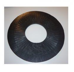 Fästplatta 16 tum med gummibaksida
